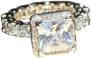 Other New 925 Silver Sapphire Ring
