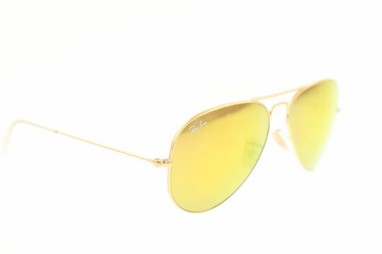 Ray-Ban Mirrored Yellow Sunglasses