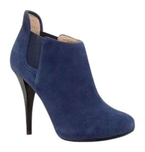 Guess Suede Nwob Elastic New York Blue Boots
