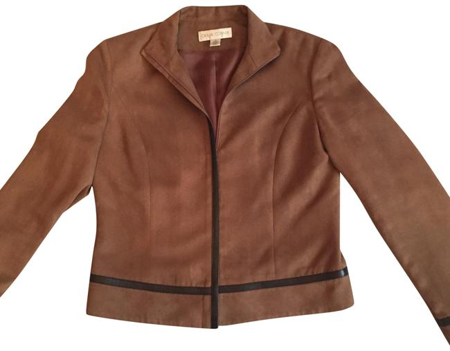 Preload https://img-static.tradesy.com/item/23861895/casual-corner-brown-jacket-blazer-size-4-s-0-1-650-650.jpg