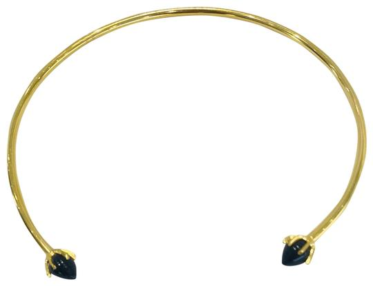 Preload https://img-static.tradesy.com/item/23861982/lizzie-fortunato-gold-onyx-eclipse-collar-necklace-0-2-540-540.jpg