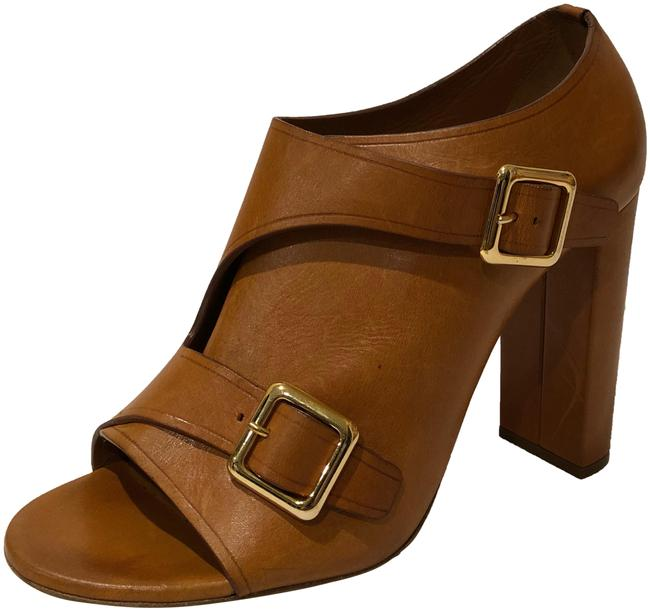 Chloé Brown New Double Buckle Open Toe Leather Sandals Size EU 40 (Approx. US 10) Regular (M, B) Chloé Brown New Double Buckle Open Toe Leather Sandals Size EU 40 (Approx. US 10) Regular (M, B) Image 1