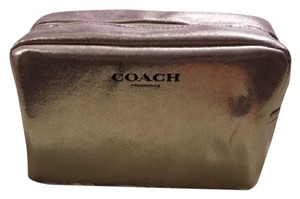 Coach New large Coach Cosmetic bag/ travel pouch