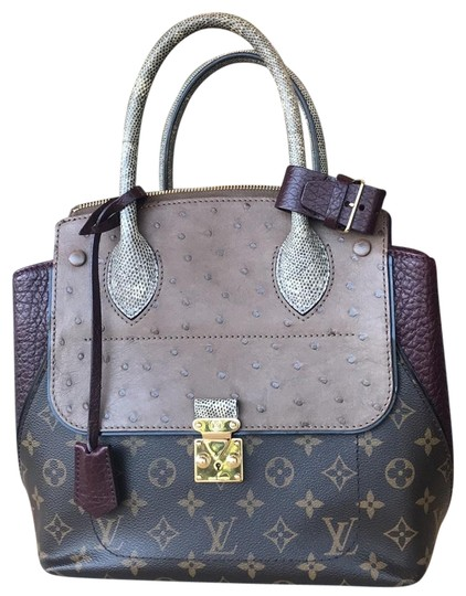Preload https://img-static.tradesy.com/item/23862232/louis-vuitton-majestueux-ostrich-lizard-coated-canvas-monogram-tote-0-1-540-540.jpg
