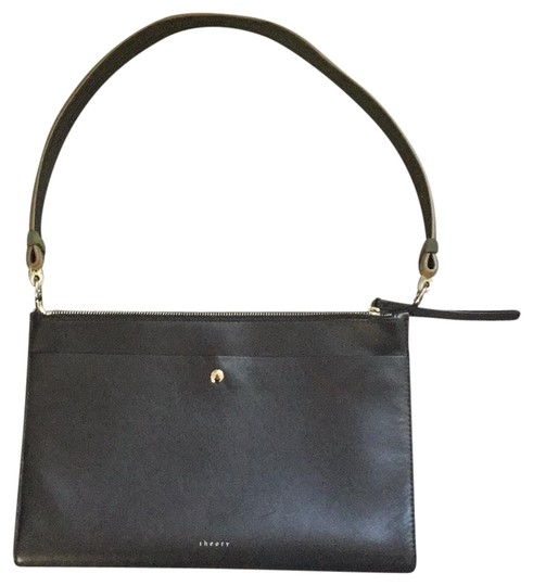 Preload https://img-static.tradesy.com/item/23862309/theory-black-leather-shoulder-bag-0-1-540-540.jpg