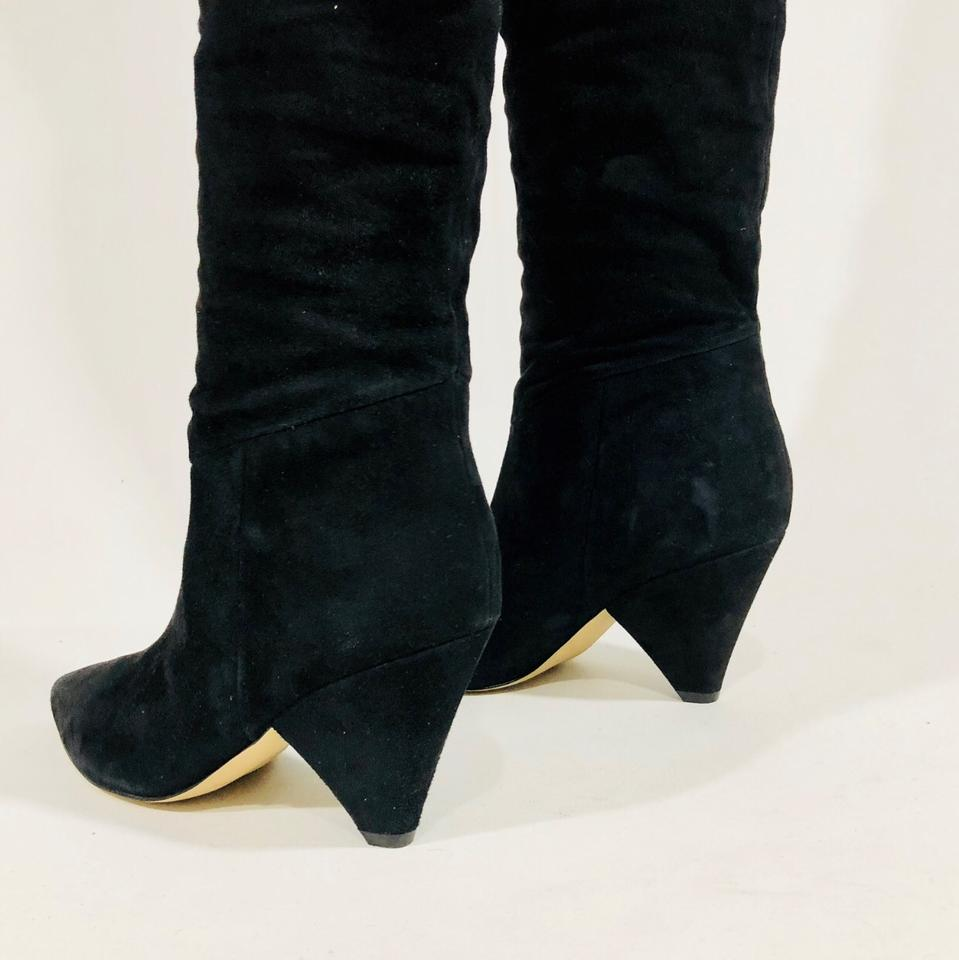cc2582177cc1 Marc Fisher Black Pagie Boots Booties Size US 8 Regular (M
