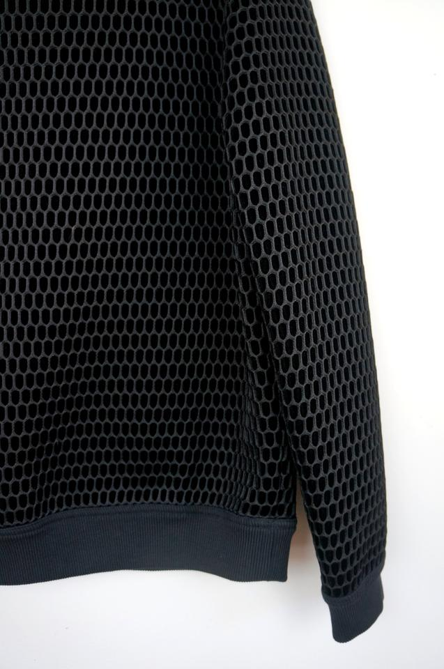 Sweater Pullover Honeycomb Givenchy Black Silk wUqSxxX8n