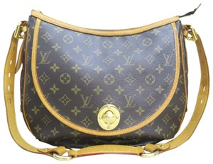 Louis Vuitton Lv Monogram Tulum Gm Canvas Tote in brown