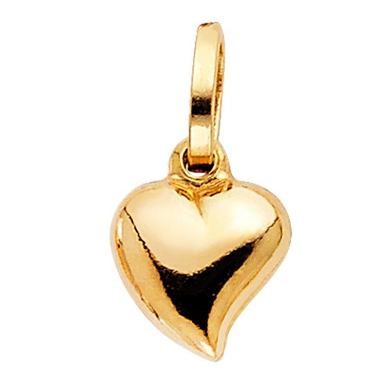Preload https://img-static.tradesy.com/item/23862742/yellow-gold-14k-heart-pendant-charm-0-0-540-540.jpg