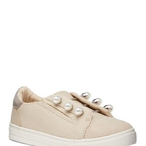 Lust For Life Sneaker Casual Fashionable Suede Pearl Sand Flats