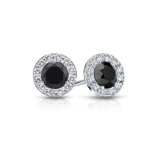 Preload https://img-static.tradesy.com/item/23862902/black-onyx-and-cz-halo-stud-in-sterling-silver-150cttw-earrings-0-0-540-540.jpg