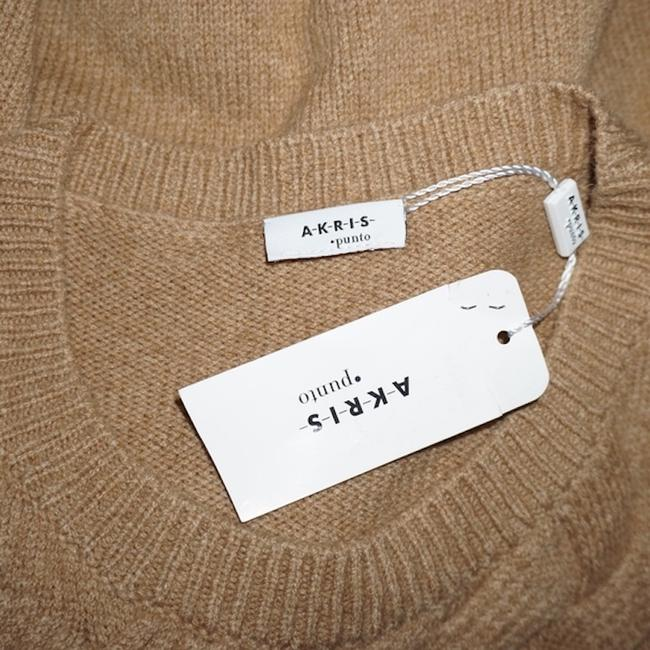 Akris Punto New With Tag Fringe Hem Wool Hair Sweater Image 4