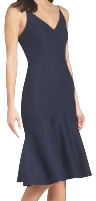 Cooper St Navy Ruffle Mid-length Night Out Dress Size 12 (L) Cooper St Navy Ruffle Mid-length Night Out Dress Size 12 (L) Image 1