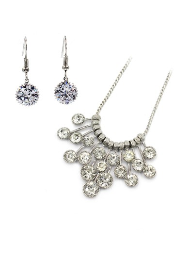 Preload https://img-static.tradesy.com/item/23862987/silver-noble-crystal-earrings-necklace-0-0-540-540.jpg
