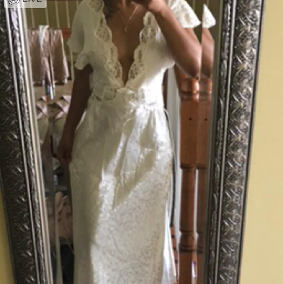 Dress Just Cream Valentino Casual Awesome Gown Maxi F7FSgqK