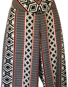 Bar III Wide Leg Pants Blue, white and red