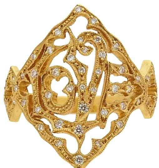 Preload https://img-static.tradesy.com/item/23863317/cathy-waterman-yellow-gold-love-22k-with-diamond-accents-ring-0-2-540-540.jpg