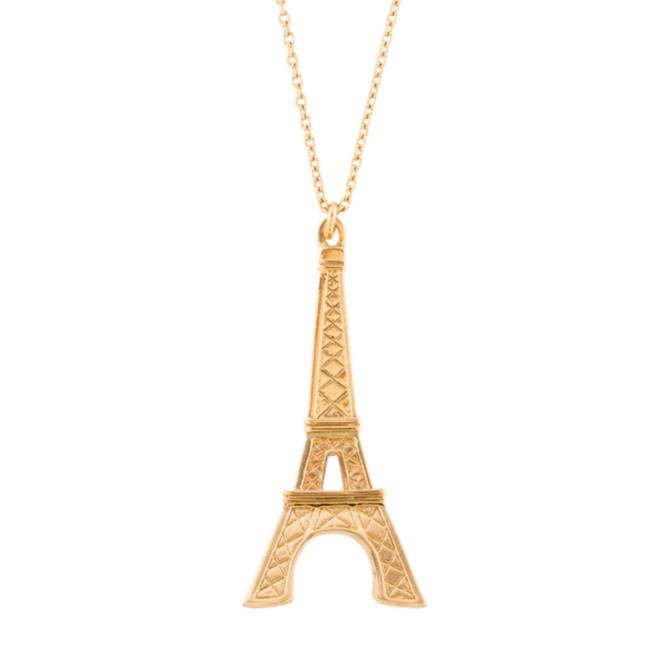 Kate Spade Gold Eiffel Tower Parisian Lights Necklace Kate Spade Gold Eiffel Tower Parisian Lights Necklace Image 1