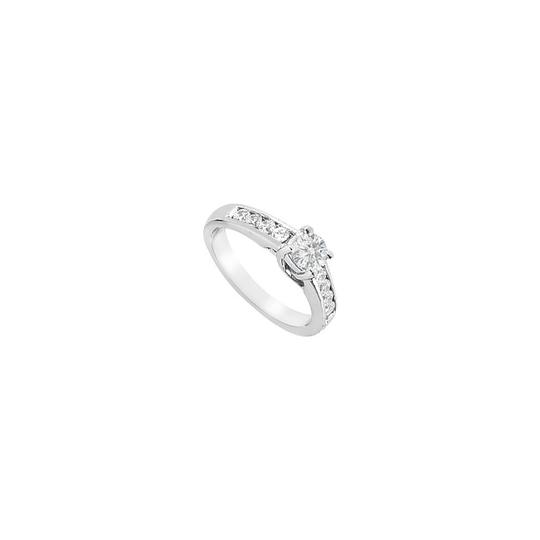 Preload https://img-static.tradesy.com/item/23863634/white-white-cubic-zirconia-engagement-sterling-silver-100-ct-tgw-ring-0-0-540-540.jpg