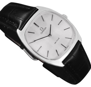 Omega 1977 Omega De Ville Vintage Mens Handwound Ultra Thin Dress Watch - St