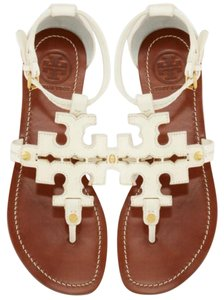 Tory Burch Phoebe Summer Miller Ivory white Sandals
