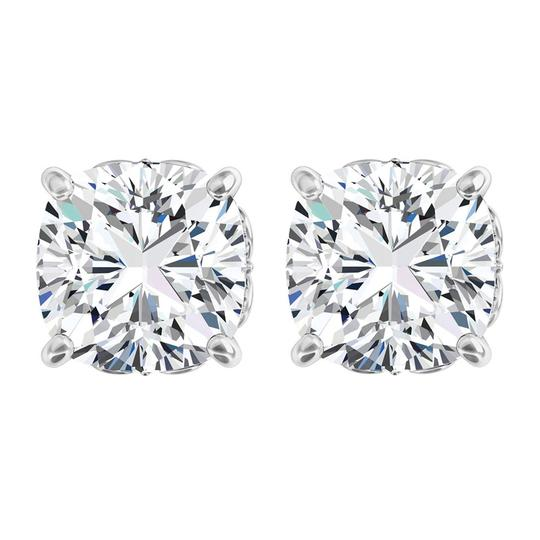 Preload https://img-static.tradesy.com/item/23863832/white-antique-square-4-prong-14k-gold-with-cz-earrings-0-0-540-540.jpg