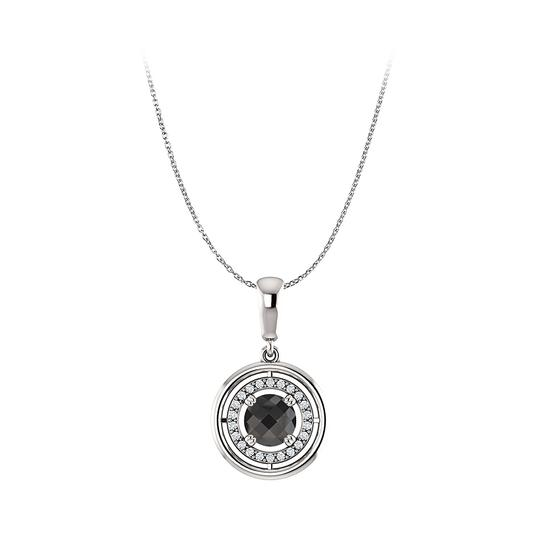 Preload https://img-static.tradesy.com/item/23863944/black-onyx-cubic-zirconia-circle-pendant-in-925-silvers-necklace-0-0-540-540.jpg