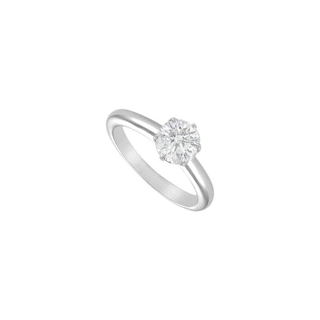White White Cubic Zirconia Solitaire Sterling Silver 1.50 Ct Ring White White Cubic Zirconia Solitaire Sterling Silver 1.50 Ct Ring Image 1