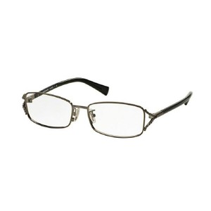 Coach HC5073-9017-54 Rectangle Women's Silver Frame Clear Lens Eyeglasses