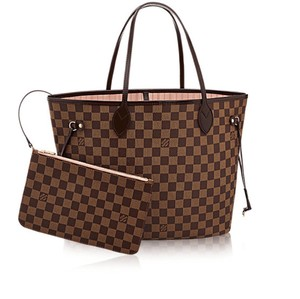 Louis Vuitton Monogram Luxury Limited Edition Leather Canvas Tote in Damier