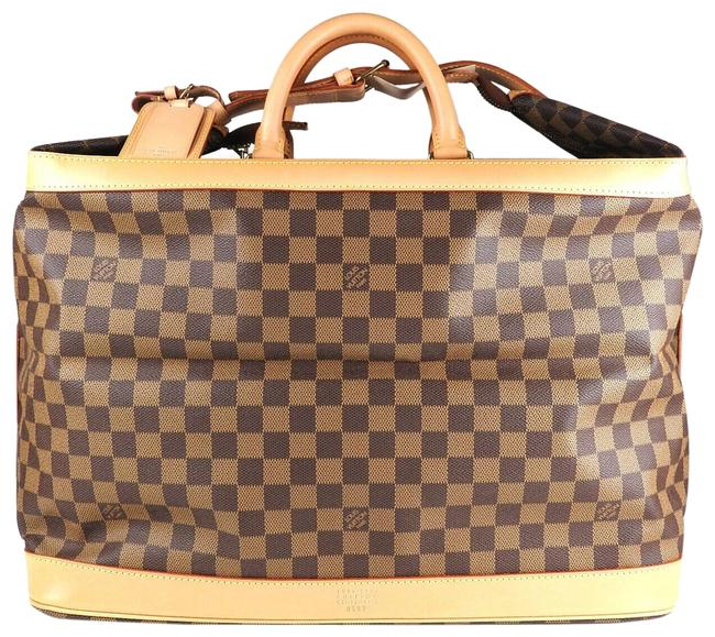 Louis Vuitton Cruiser Like New Limited Edition Special Order 100year Anniversary Brown Damier Ébène Canvas Shoulder Bag Louis Vuitton Cruiser Like New Limited Edition Special Order 100year Anniversary Brown Damier Ébène Canvas Shoulder Bag Image 1