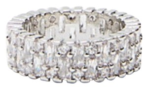 Express express baguette cubic zirconia ring size 6