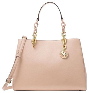 Michael Kors Satchel in Soft Pink/Gold