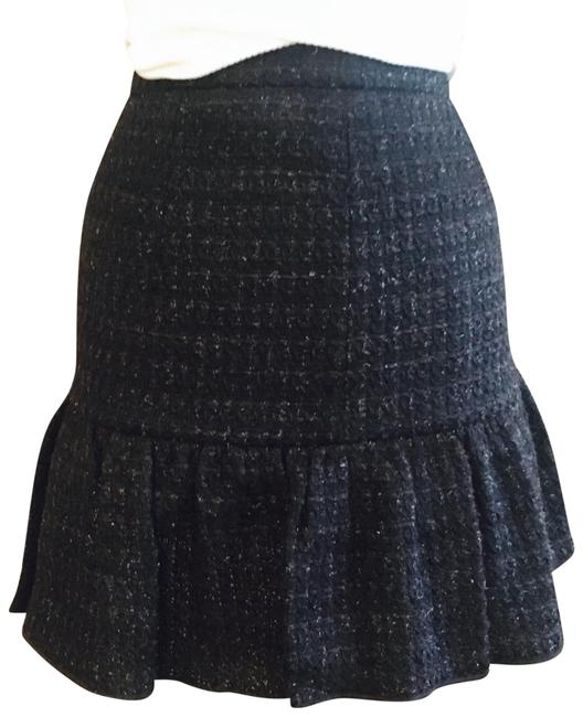 Preload https://img-static.tradesy.com/item/23864929/moschino-black-metallic-boucle-tweed-skirt-size-4-s-27-0-1-650-650.jpg