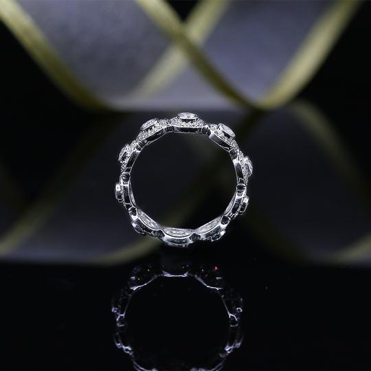 Preload https://img-static.tradesy.com/item/23865264/18k-white-gold-eternity-band-with-total-100ct-of-round-cut-ring-0-0-540-540.jpg