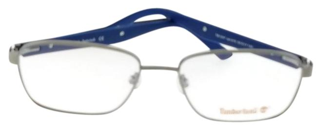 Timberland Grey Frame Tb1347-015-55 Rectangle Mens Clear Lens Genuine Eyeglasses Timberland Grey Frame Tb1347-015-55 Rectangle Mens Clear Lens Genuine Eyeglasses Image 1