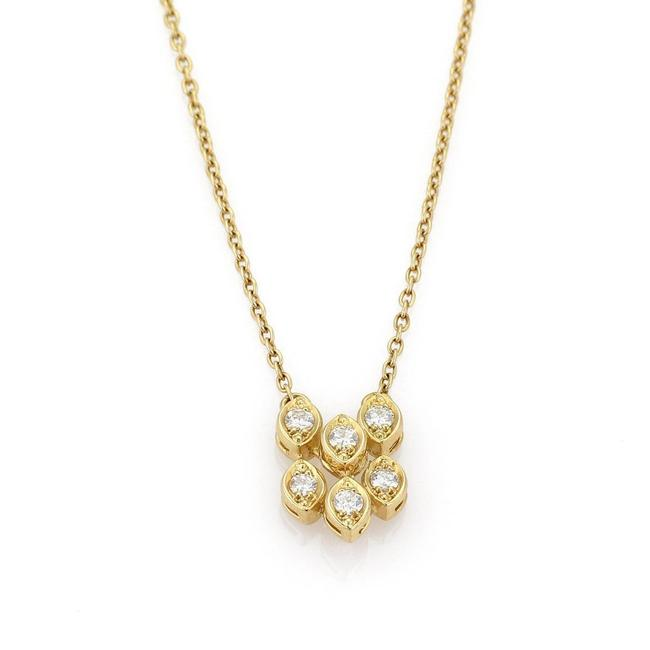 Dior 19894 Diamond Fancy Drop 18k Yellow Gold Pendant Necklace Dior 19894 Diamond Fancy Drop 18k Yellow Gold Pendant Necklace Image 1