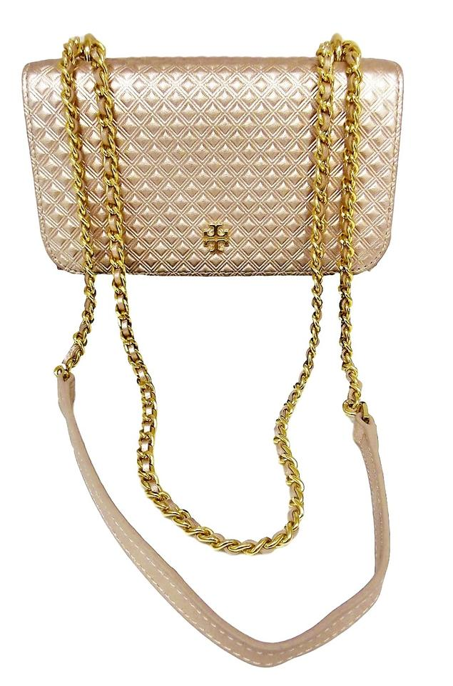 fead0cdb0c49 Marion Flap Tory Metallic Body Gold Bag Cross Burch Quilted Leather Rose  5r5qxAtIHw ...