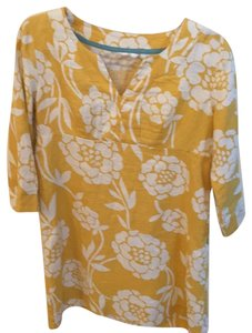 171f7e34f7a16 Boden short dress yellow with white flowers on Tradesy