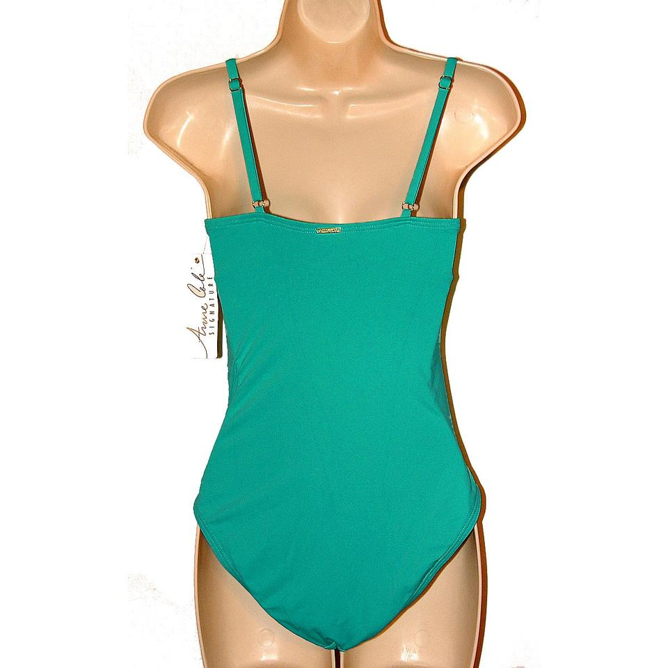 11283afdbe Anne Cole Classic Lingerie Ruched Maillot One-Piece Swimsuit Image 3. 1234