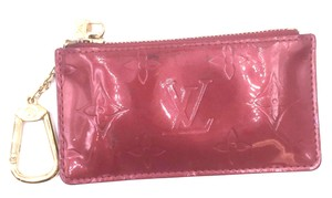 Louis Vuitton Vernis leather Zippy key cles Pocket Holder coin card