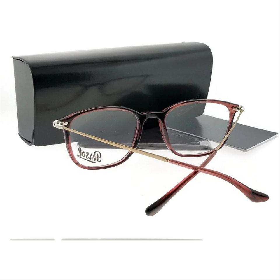 612036803d3d7 Persol Pink Frame Po3146v-1054-53 Rectangle Men s Clear Lens ...