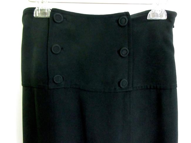 12840d6cb Tracy Reese Black Button Embellishment Skirt Size 6 (S, 28) - Tradesy