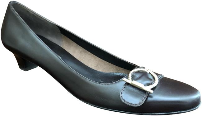 Item - Brown Leather 9aa Pumps Size US 9 Narrow (Aa, N)