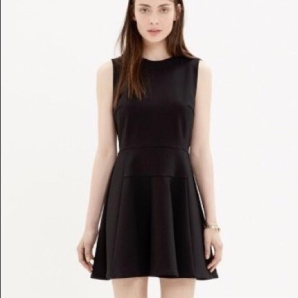 ff543479f5187 Madewell Black Anywhere Short Cocktail Dress Size 4 (S) - Tradesy