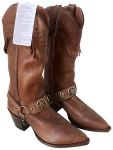 Dan Post Boots Cognac Brown Boots