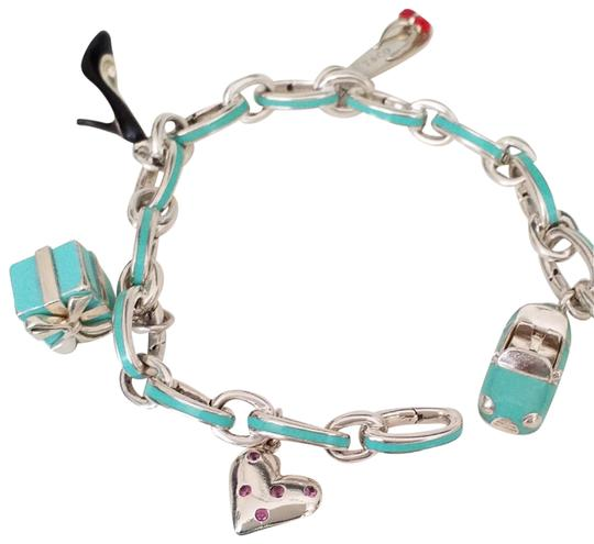 Preload https://item4.tradesy.com/images/tiffany-and-co-blue-red-black-pink-silver-co-enamel-with-5-enamel-charms-bracelet-23867483-0-2.jpg?width=440&height=440