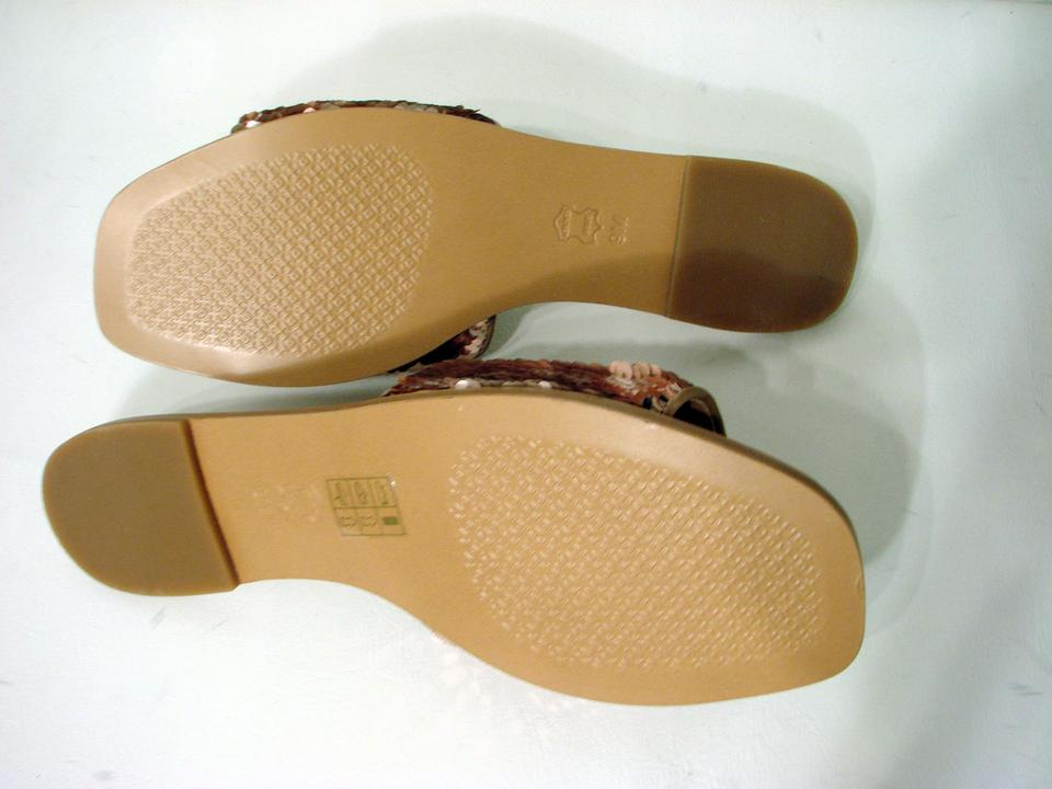 f133a3e77 Tory Burch Rose Gold Perfect Blush Carter To Reversible Sandals Size ...