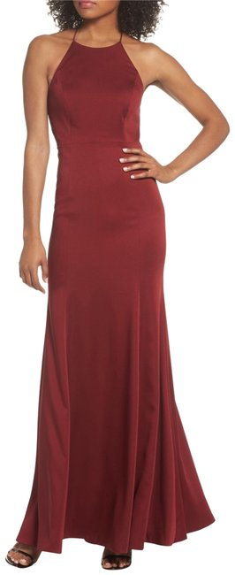 Jenny Yoo Naomi Luxe Crepe Halter Gown Long Formal Dress Size 2 (XS) Jenny Yoo Naomi Luxe Crepe Halter Gown Long Formal Dress Size 2 (XS) Image 1