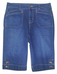 Bandolino Capri/Cropped Denim-Dark Rinse